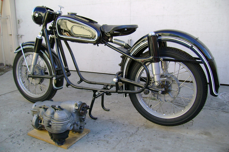 61 R27 from parts | Vintage BMW Motorcycle Owners